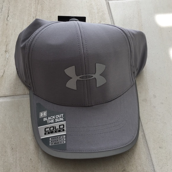 5fa095d3521 Under Armour Coldblack Grey Cap